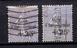France Caisse D'Amortissement YT N° 276 Deux Timbres Oblitérés. B/TB. A Saisir! - France