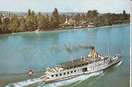 AMPHION-LES-BAINS (74). Vue Aérienne. Promenade Sur Le Léman - Ships