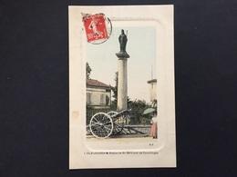 CPA GERS L'ISLE-JOURDAIN Statue De St Bertrand De Comminges - Autres Communes