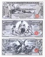 USA Silver Certificate 3 Note Set 1896 COPY - Silver Certificates (1878-1923)