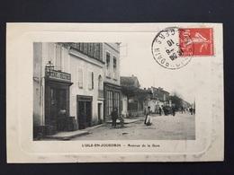 CPA GERS L'ISLE-JOURDAIN Avenue De La Gare - Autres Communes