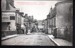 45, Chateaurenard, Entree De La Ville, Cote Sud , La Rue De Berry - Autres Communes
