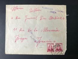 ESPAGNE - Censura Militar JACA - à Destination De TROYES - Mai 1937 - 1931-Aujourd'hui: II. République - ....Juan Carlos I