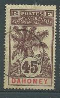 Dahomey  -  Yvert N° 27 Oblitéré   -   Bce 19205 - Dahome (1899-1944)
