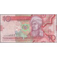TWN - TURKMENISTAN 24 - 10 Manat 2009 Prefix AA UNC - Turkmenistan