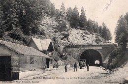 COL DE BUSSANG ( 88 ) - Le Tunnel Coté Francais - Col De Bussang