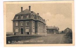 B-7156   VIRTON : Institut Normal Agricole Menager - Cour D'Honneur - Virton