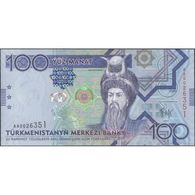 TWN - TURKMENISTAN 27 - 100 Manat 2009 Prefix AA UNC - Turkmenistan