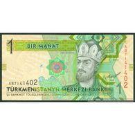 TWN - TURKMENISTAN 29a - 1 Manat 2012 Prefix AB UNC - Turkmenistan