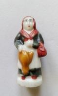 Fève Santon Personnage  Créche Femme - Santons