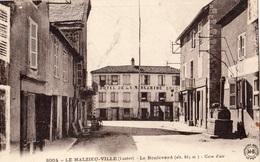 LE MALZIEU-VILLE LE BOULEVARD - Autres Communes