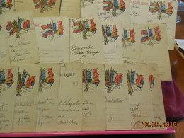 Lot De 32 Cartes De Correspondance Militaire (carte En Franchise) - Timbres