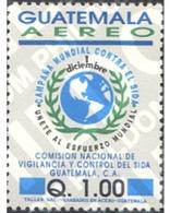 Ref. 273267 * MNH * - GUATEMALA. 1992. COMISION NACIONAL DE VIGILANCIA Y CONTROL DEL SIDA - Guatemala