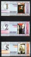 617-Lituanie Billets Commémoratifs 2002 Ghetto Juif 1943-2003 - Lithuania