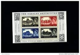 GREAT BRITAIN - 2005  THE CASTLES DEFINITIVES  MS  MINT NH - Blocchi & Foglietti
