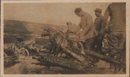 2 Photo Guerre 1914 1918 Materiel Allemand Capturé Moulin De Ripont Rouvroy Ripont  Marne 1918 - 1914-18