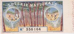 VIEUX PAPIERS - LOTERIE NATIONALE - ANNÉE 1941-XIII° TRANCHE - Billets De Loterie