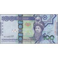 TWN - TURKMENISTAN 34 - 100 Manat 2014 Prefix AC UNC - Turkmenistan