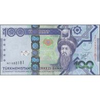 TWN - TURKMENISTAN 34 - 100 Manat 2014 Prefix AC UNC - Turkménistan