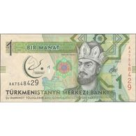 TWN -  TURKMENISTAN 36 - 1 Manat 2017 5th Asian Indoor And Martial Games, Aşğabat 17.-27.09.2017 - Prefix AA UNC - Turkmenistan