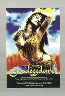 """**   -1 X Jehan's GODDESSDANCE    """""""" A Must-feel Experience Of World Music & Dance !  """" - Acteurs"""