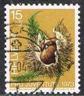 Switzerland SG J241 1973 Pro Juventute 15c+5c Good/fine Used [17/15711/7D] - Pro Juventute