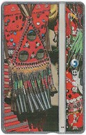 Taiwan - Chunghwa Telecom - L&G - A Tribe Miracle Weaving - 732F - 1997, 100U, Used - Taiwan (Formosa)
