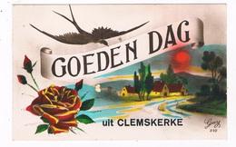 B-7166   CLEMSKERKE : Goedendag Uit - De Haan