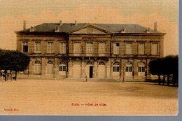 ETAIN  -  Hôtel De Ville  -  Carte Toilée Couleur - Etain