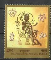 INDIA, 2001,  Emperor Chandragupta Maurya,  MNH, (**) - Nuevos
