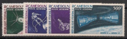 Cameroun - 1966 - Poste Aérienne PA N°Yv. 70 à 73 - Conquète De L'espace - Neuf Luxe ** / MNH / Postfrisch - Afrika