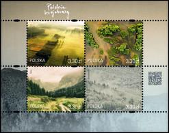 Poland 2019 Fi BLOK 330 Mi BLOCK 285 Polish Landscapes - 1944-.... República