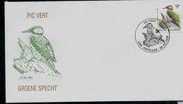 FDC Du N° 2778  Pic Vert  -  Groene Specht  Obl. Nivelles 0808/1998 - 1985-.. Oiseaux (Buzin)