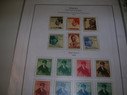 Romania SP.1940 King Karol II°   Scott. B 119/126+See Scan On Scott.Service Page; - 1918-1948 Ferdinand, Charles II & Michael
