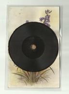 -*- 1 X  CP-  DISQUE  *-----TUCK'S GRAMOPHONE RECORD POSTCARD  . - Cartes Postales