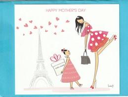 E.LAUDER **Happy Mother's Day **Bonne Fête Des Mères 2019 - Perfume Cards