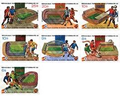 Ref. 71771 * MNH * - GUINEA. 1982. FOOTBALL WORLD CUP. SPAIN-82 . COPA DEL MUNDO DE FUTBOL. ESPAÑA-82 - 1982 – Espagne