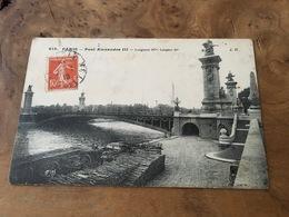 288/ Paris Pont Alexandre Lll - Frankreich
