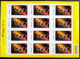 BRAZIL Personalized Stamp PB 34 115 Anos Vitoria Futebol 2017 Sheet - Brazilië