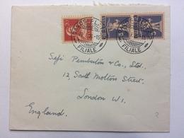 SWITZERLAND - 1926 Cover Davos To London England - Switzerland