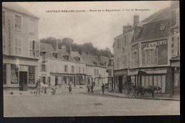 45, Chateau-renard, Place De La Republique Et Rue De Bourgogne - Autres Communes