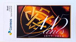 BRAZIL Personalized Stamp PB 34 115 Anos Vitoria Futebol 2017 - Brasil