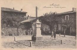 MONTONATE - MONUMENTO AI CADUTI IN GUERRA - Varese