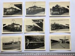 Gent 9 Kleine Fotos Tram Trein Train En Station - Gent
