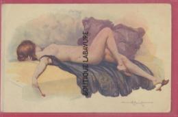 ILLUSTRATEUR --PENOT---Modele D'Atelier----Femme Nue Allongée - Illustrateurs & Photographes