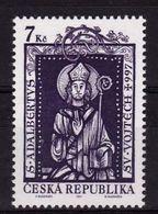1997 - VATICANO-REPUBBLICA CECA, Sant'Adalberto, Emissione Congiunta - MNH ** - Emissioni Congiunte