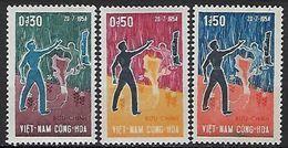 """Viet-Sud YT 242 à 244 """" Partage Du Vietnam """" 1964 Neuf** MNH - Viêt-Nam"""
