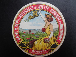 Etiquette Ancienne Neuve - Cheese