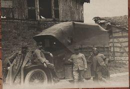 Photo  Guerre 1914 1918   Camion Armée Française - 1914-18
