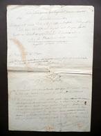 Autografo Pietro Torrigiani Appunti Riordinamento Uffici Postali Telegrafici - Autografi